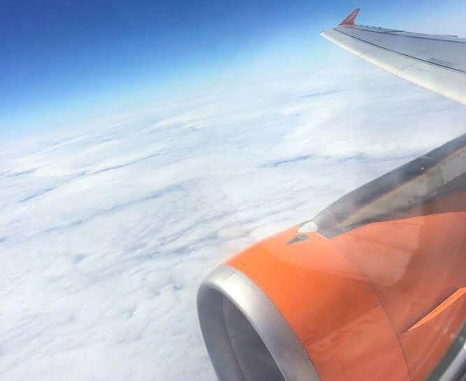Vliegen naar Berlijn