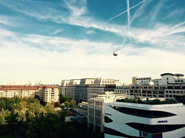 luchtballon in berlijn